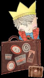 Der Reisekönig geht auf Reisen. Das Reisetagebuch.